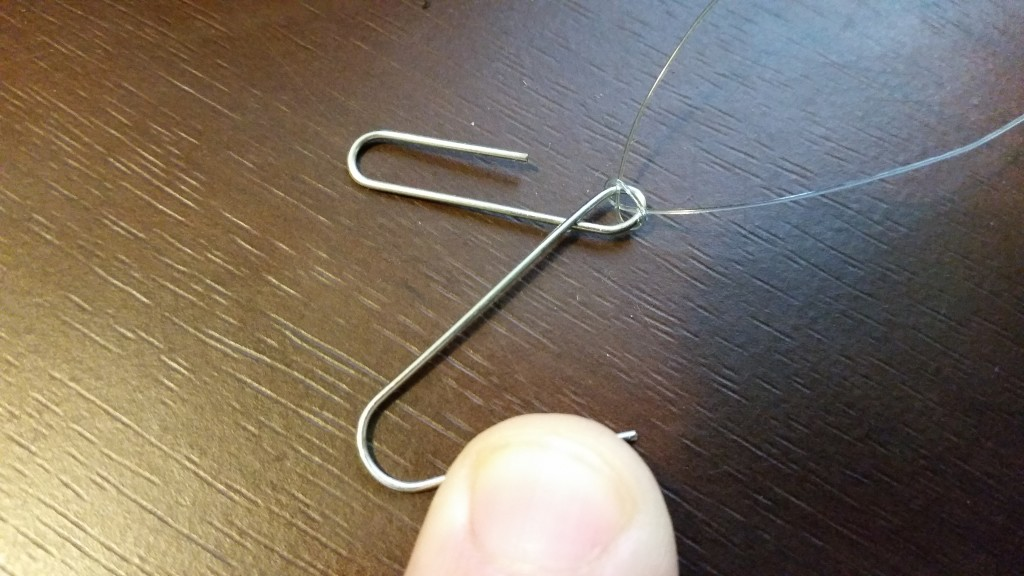 A paperclip becomes an anchor. Does anyone use these to clip paper any more?