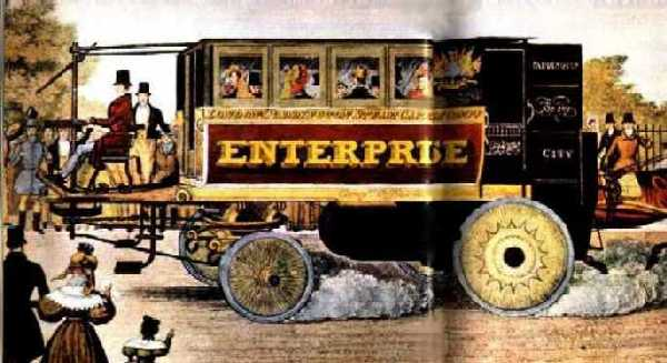 Enterprise Steam Bus