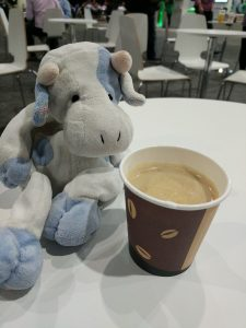 Blue Cow and a CDW provided espresso.