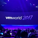 The main keynote stage at the start of VMworld 2017. (Photo: Justin Warren)