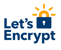 Let's Encrypt Logo White Background