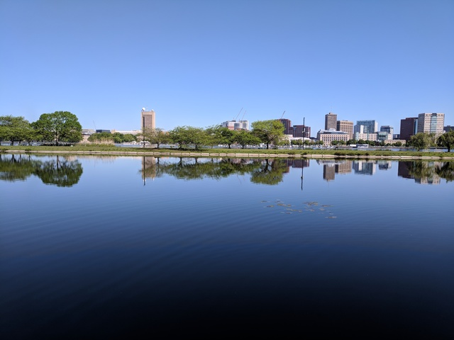 Charles River, Boston, 21 May 2018 (Photo by Justin Warren)
