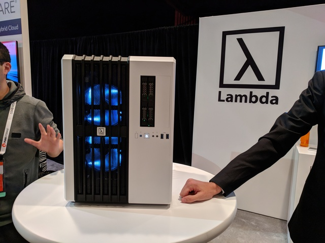 Lambda, a vendor displaying at Pure Accelerate 2018