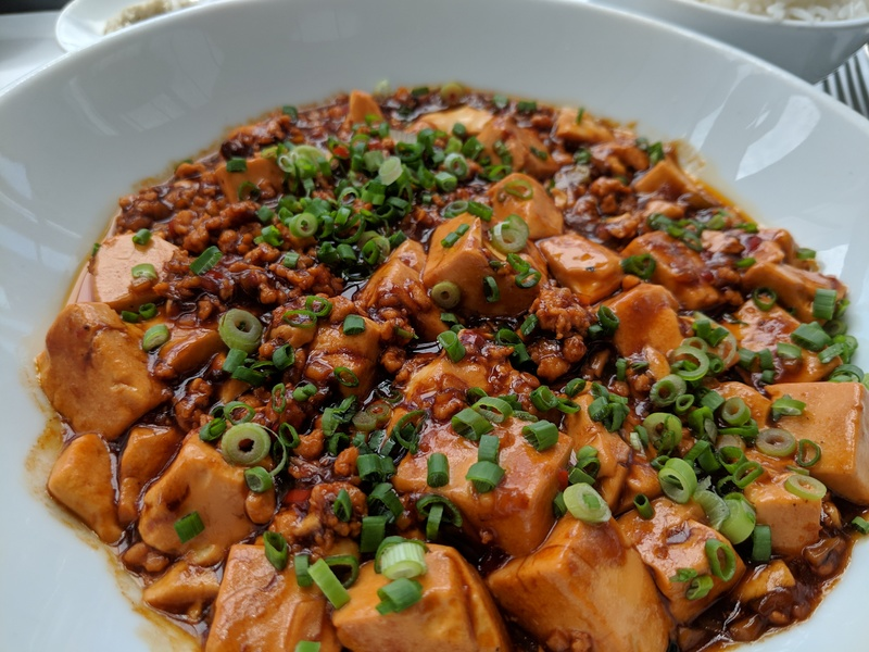 Mapo tofu at 38 restaurant, Grand Hyatt KL