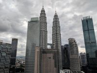 The Petronas Twin Towers KL