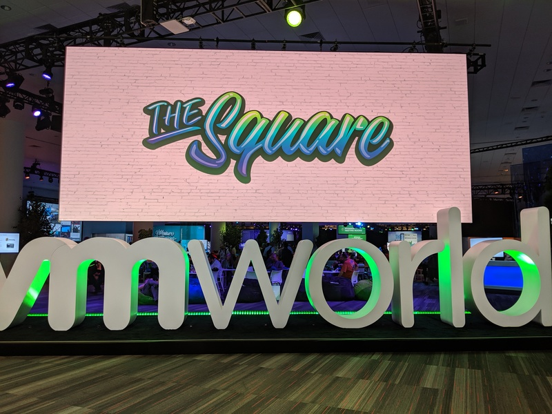 The sign for The Square at VMworld 2019